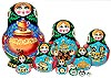 matryoshka Russian nesting dolls for collectors